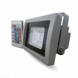 10W LED Прожектор RGB С IR Дистанционно SMD