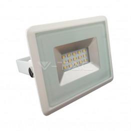 10W LED Прожектор E-Series Бяло Тяло Неутрално Бяла Светлина
