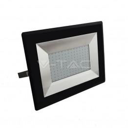 100W LED Прожектор Е-Series Черно Тяло Топло Бяла Светлина