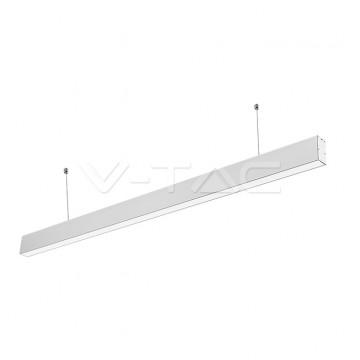 LED Линейно Осветление SAMSUNG Чип - 40W Висящо Бяло Тяло 6400K