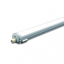 ПРОМО - LED Влагозащитено тяло G-Серия AL/PC 1200mm 36W Бяла светлина