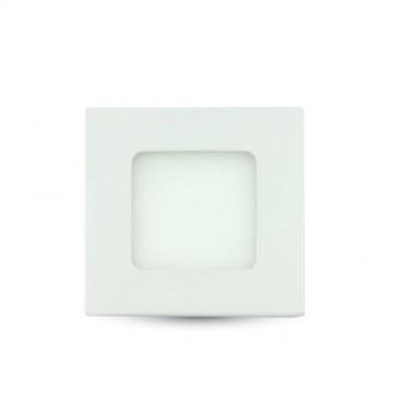 3W LED Premium Panel Downlight - Square Natural White