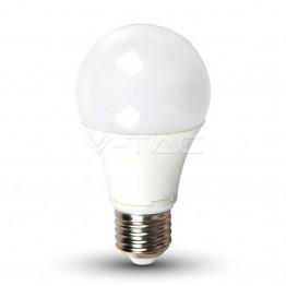 LED Крушка - 9W E27 A60 Термо Пластик Неутрално Бяла Светлина