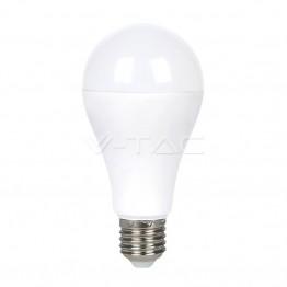 LED Крушка - 6W E27 A60 RGB С Дистанционно Бяла Светлина Блистер