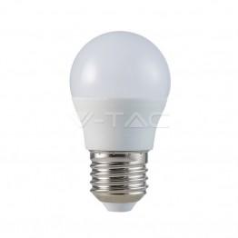 LED Крушка - 5.5W E27 G45 Неутрално Бяла Светлина