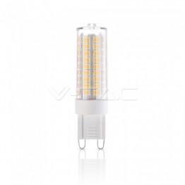 LED Крушка - 5W G9 Пластик Димираща 3000K