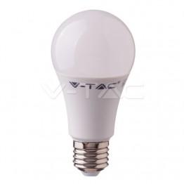 LED Крушка - 10W E27 A60 Пластик 4000K