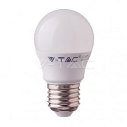 LED Крушка - 5.5W E27 G45 6400K CRI 95+