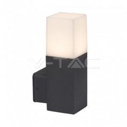 GU10 Градинска Стенна Лампа Черна Квадрат IP54