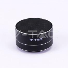 Bluetooth Колона Метална + TF Слот 400mah Черна