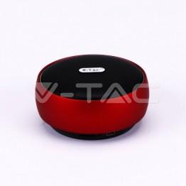 Преносима Bluetooth Колона Micro USB 800mah Червена