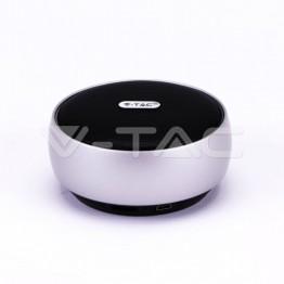 Преносима Bluetooth Колона Micro USB 800mah Сребърна