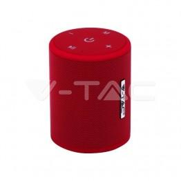 Преносима Bluetooth Колона Micro USB 1500mah Червена