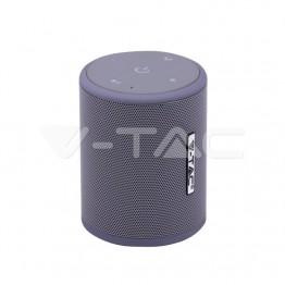 Преносима Bluetooth Колона Micro USB 1500mah Сива