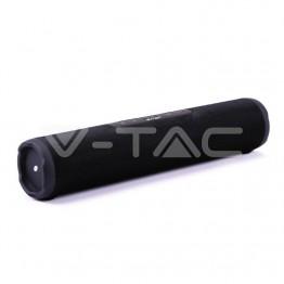Преносима Bluetooth Touch Колона Цилиндър FM USB TWS TF Слот 1200mah