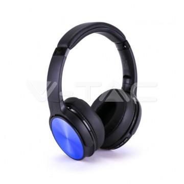 Bluetooth Слушалки Ротация 500mAh Сини