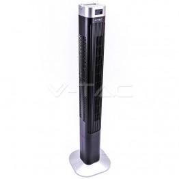 55W LED Tower Fan 46 Inch Black