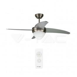 15W LED Тяло/Вентилатор Таван Дистанционно 3 в 1 3 Перки 60W AC Мотор