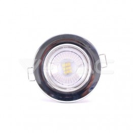 5W LED Fire Rated Downlight Chrome Dimmable 4000K