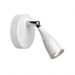 4.5W Лед Единична Спот Лампа Топло Бяла Светлина Бяла
