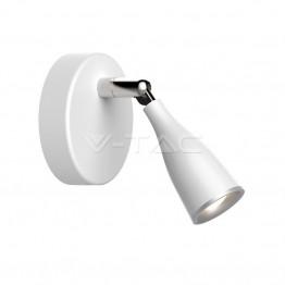 4.5W Лед Единична Спот Лампа Неутрална Светлина Бяла