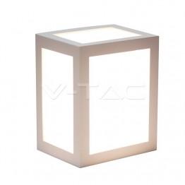 12W Стенна Лампа Бяло Тяло 3000К