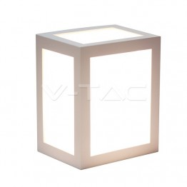 12W Стенна Лампа Бяло Тяло 4000К