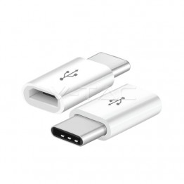 Преходник Micro USB Към Type C Черен