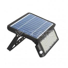 10W LED Соларен Прожектор Черно Тяло 4000K