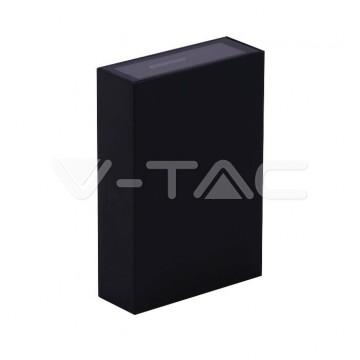 4W LED Стенна Лампа Черна 3000К