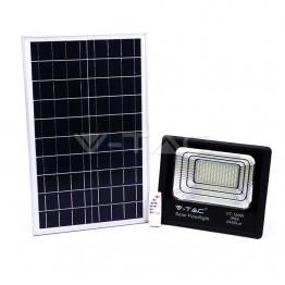 35W LED Прожектор с Фотоволтаичен Панел 4000К