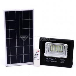 12W LED Прожектор с Фотоволтаичен Панел 6000К