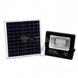 20W LED Прожектор с Фотоволтаичен Панел 6000К