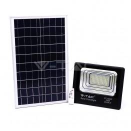 35W LED Прожектор с Фотоволтаичен Панел 6000К